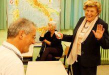 Mariangela Baroncelli Molducci al corso di ebraico