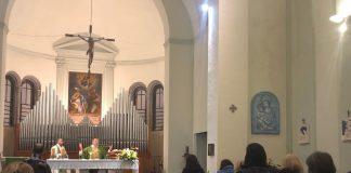 Un momento della Messa di chiusura del mese missionario straordinario in Diocesi