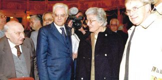 L'incontro di Sergio Mattarella con Anna Zaccagnini in occasione delle iniziative per il decimo anniversario della morte di Zac, al Teatro Alighieri