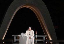 Il Papa al Memoriale per la pace di Hiroshima