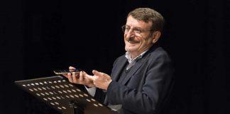 Giacomo Poretti sul palco. Ph credits: Serena Serrani