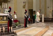 La Messa in Cattedrale con l'Arcivescovo