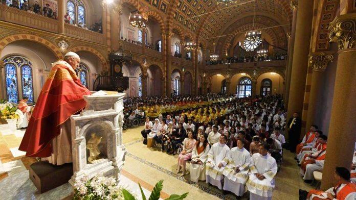 Papa Francesco Un Cuore Felice E Radicato In Cristo Risveglio