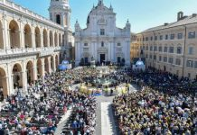 La visita di Papa Francesco a Loreto il il 25 marzo 2019