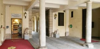 L'ingresso al Museo Arcivescovile
