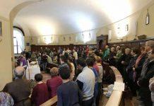 La Messa conclusiva della due giorni di Esercizi spirituali