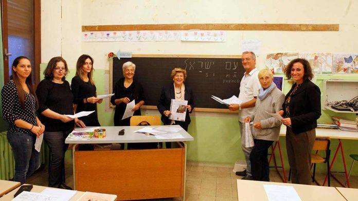 Una delle classi di Ebraico della signora Mariangela Molducci, responsabile dell'Amicizia ebraico-cristiana in Diocesi