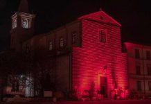 Il Duomo di Cervia, da venerdì sera illuminato di rosso