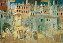 Ambrogio Lorenzetti, Effetti del Buon Governo in città