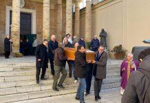 I funerali di stamattina a San Rocco