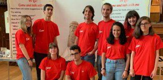 I partecipanti a un tirocinio formativo di Erasmus Plus