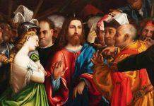 Lorenzo Lotto. Cristo e l'Adultera