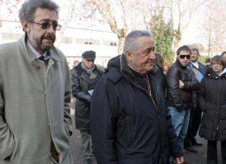 Fabrizio Matteucci e monsignor Giuseppe Verucchi
